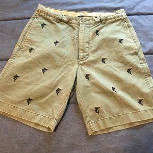 "J. Crew Broken In Vintage Style Shorts 32"""
